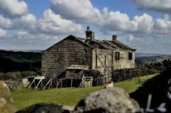 Derelict Farm, Haworth Moor