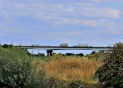 Motorway Bridge over River Don