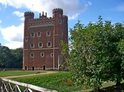 The two moat castle of Tattershall