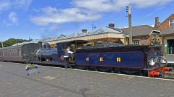North Norfolk Heritage Railway at Sheringham Station