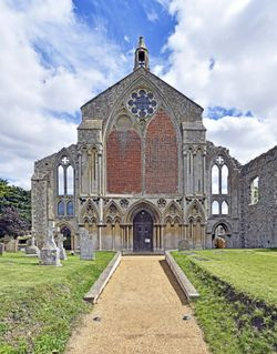 Binham Priory West Front