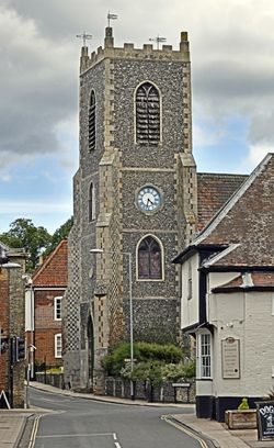 St. Peter's Church, Thetford