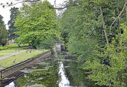 The Little Ouse River at Thetford