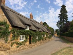 Lovely cottages at Brockhall