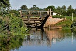 Beeleigh Lock Chelmer Canal Essex