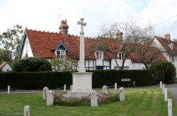 The war memorial, Dorchester-on-Thames