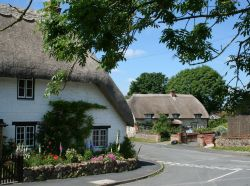 Thatched period cottage in Ashbury