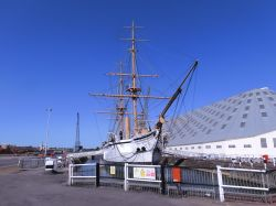 HMS Gannet at Chatham Historic Dockyard