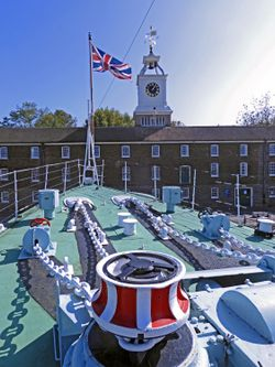 HMS Cavalier at Chatham Historic Dockyard