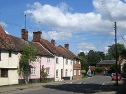 Period cottages in Sutton Courtenay