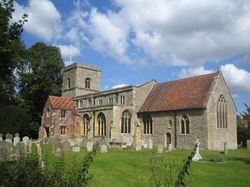 All Saints' Church, Sutton Courtenay