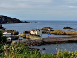 St Abbs Harbour and Lifeboat Station