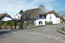 Ewelme High Street Thatched Cottages