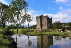 Hopton Castle  near Ludlow