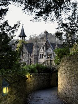 The Manor House. Castle Combe