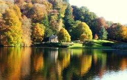 Stourhead Gardens, Autumnal reflections.