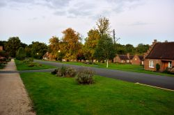 Autumn Evening View Down Octagon Road