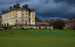 Bretton Hall View with a Stormy Sky