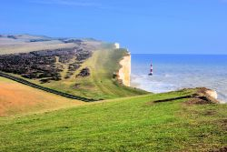The 'New' Lighthouse at Beachy Head on the Sussex Coast