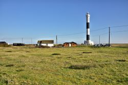 The New Lighthouse at Dungeness in Kent