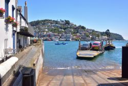 The Lower Dart Ferry Arriving at Dartmouth