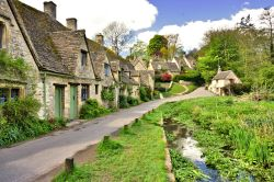 The Classic View of Arlington Row in Bibury