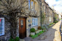 Providence Cottage on The Hill at Burford in the Cotswolds