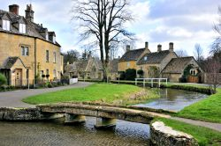 Footbridges Across the River Eye at Lower Slaughter