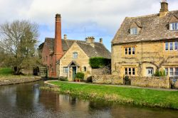 The Old Mill and Riverside Cottages at Lower Slaughter