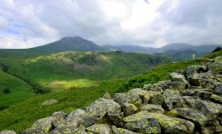 Admiring the View to Scafell Pike in the Lake District