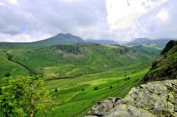 View Across Eskdale to Scafell Pike