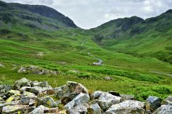 Hardknott Pass View in the Lake District