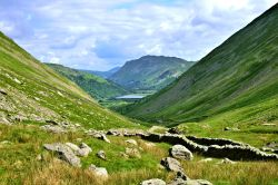 Kirkstone Pass View to Brothers Water in the Eastern Lake District