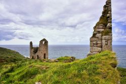 Derelict Tin Mines at Botallack in Cornwall