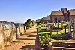 St Brélade's Church in the West of Jersey Wallpaper