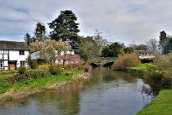 The River Arrow at Eardisland.