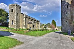 St Oswald's Church, in Castle Bolton, Wensleydale