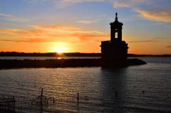 Normanton Church with Red Sunset
