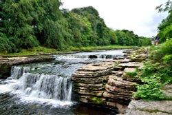 Aysgarth Lower Falls, First Drop
