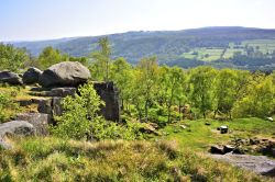 Looking South from Surprise View Near Hathersage