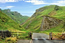 The Eastern Entrance to Winnats Pass