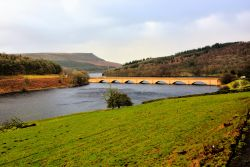 The Snake Road Bridge Between Lower Derwent and Ladybower Reservoirs