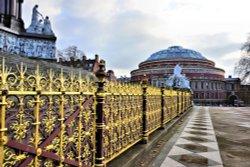 The Royal Albert Hall & Spectacular Memorial Fencing