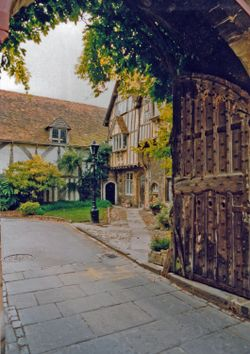 Tudor house in Winchester