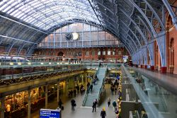 St Pancras Station View
