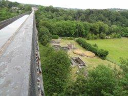 Pontcysyllte aquaduct Wrexham Wales