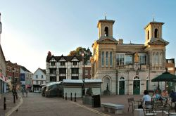 Kingston's Market Square, with its Italianate Market Hall, After the Shoppers Have Gone Home