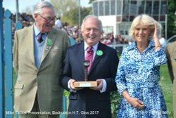 BBC Commentator Presentation by Duchess of Cornwall, Badminton Horse Trials 2017