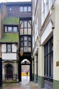 Narrow House in West Smithfield, London