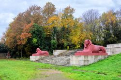 The Terracotta Sphinxes at Crystal Palace